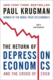 Bók: The Return of Depression Economics and the Crisis of 2008